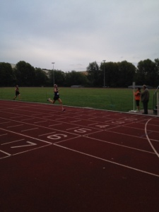 More sprinting